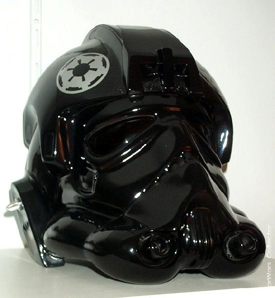 ANH Tie-Fighter Pilot helmet | My Collection of Star Wars ... Tie Fighter Pilot Helmet