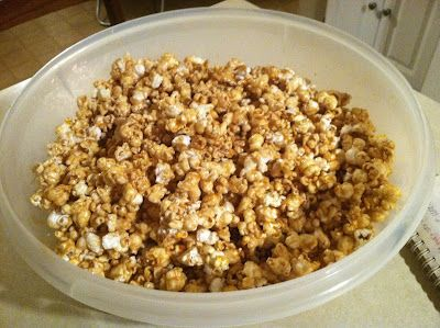 Microwave Caramel Corn. This one looks easiest. We love easy! Thanks ...