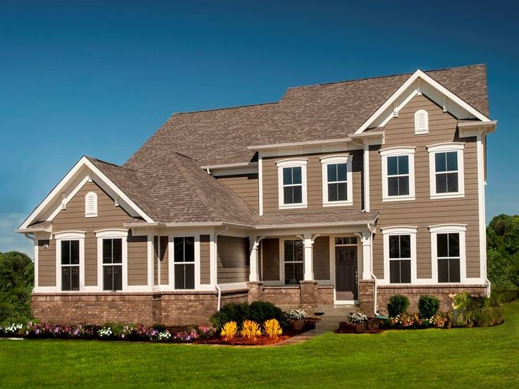 Houses With Corbels : Front porch columns with corbels dream house exteriors