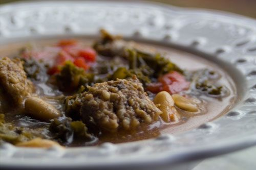 and cannellini soup cannellini bean and sausage stew with tomatoes and ...
