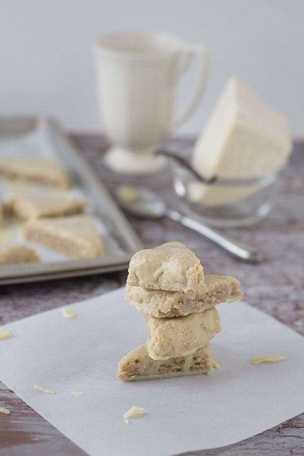 Petite Vanilla Bean Scones (Paleo, Grain Free, Gluten Free) (via ...