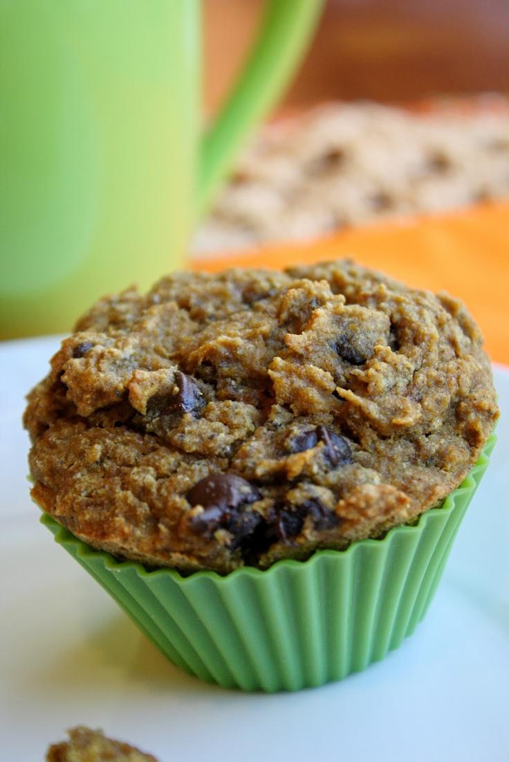 Pumpkin Chocolate Chip Muffins – Gluten Free & Vegan | Tessa the ...