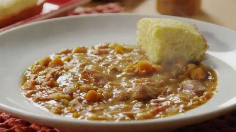 The Best Bean and Ham Soup Allrecipes.com . If you don't have a crock ...