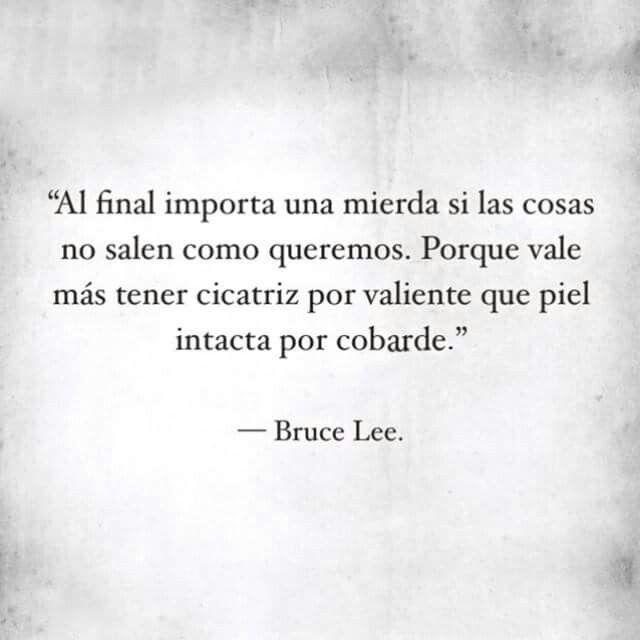 Citas sabias por Bruce Lee