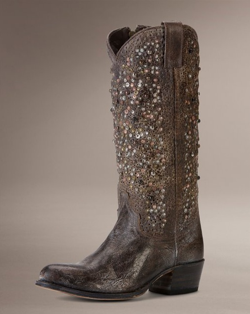 frye studded boots