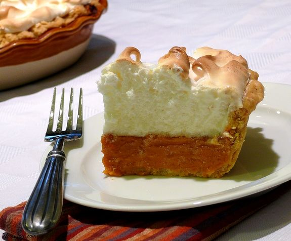 Sweet Potato Pie with Marshmallow Meringue Pie crust adapted from ...
