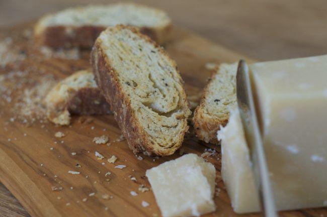 Black Pepper & Cheese Biscotti - A Pat & A Pinch