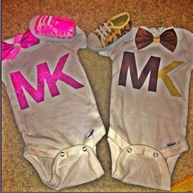 Michael Kors esies Baby stuff