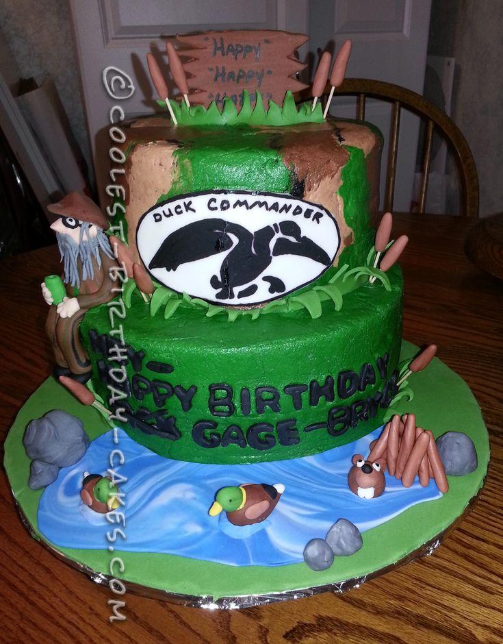 Duck Commander Cake
