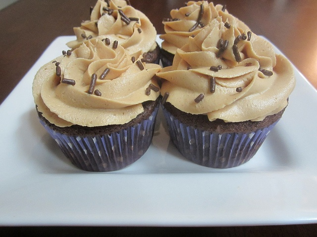 Bittersweet chocolate cake with peanut butter frosting by Pink Apron ...