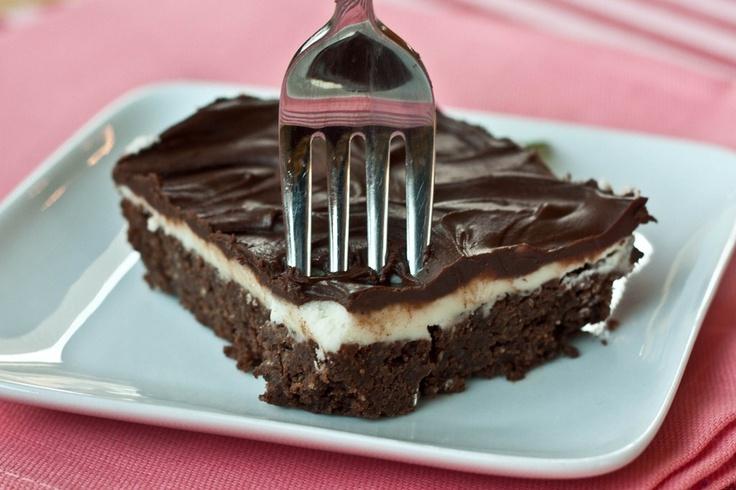 Thin Mint Brownies   Yumminess   Pinterest