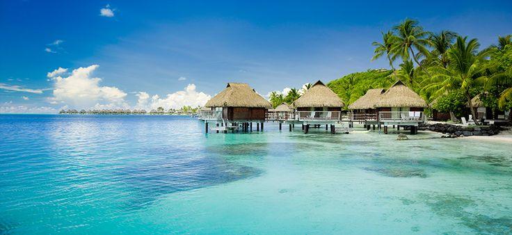 The ultimate getaway: Bora Bora, French Polynesia.
