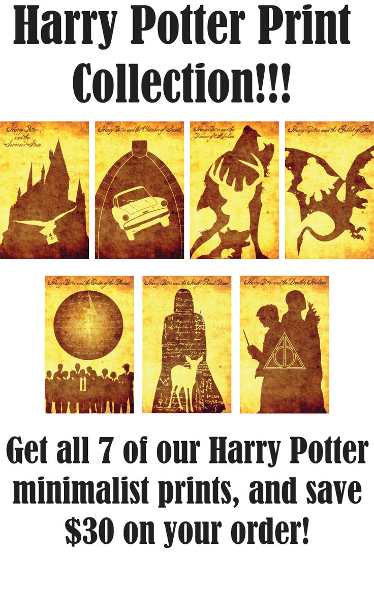 Harry Potter complete print collection