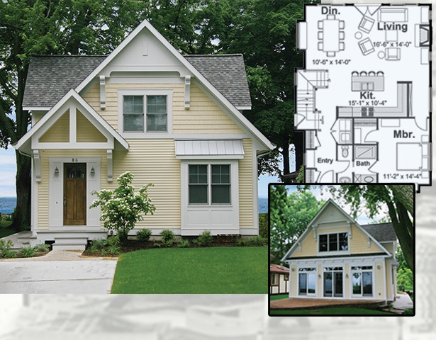 Tiny small victorian style cottage house plans to download Victorian cottage plans