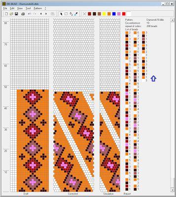Positively Crochet!: Free Pattern - Long Beaded Necklace