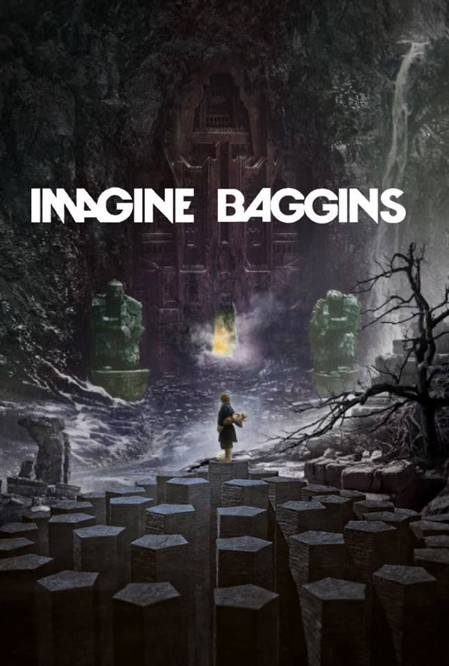 The Hobbit plus Imagine Dragons= hahahaha!!