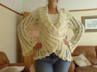 Free Crochet Pattern Wrap Sweater : CROCHET SWEATER WRAP ? Only New Crochet Patterns