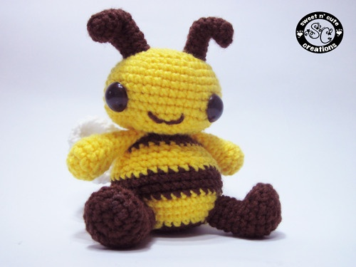 Amigurumi Pattern Bee : cute bumble bee amigurumi crochet and amigurumi ideas ...