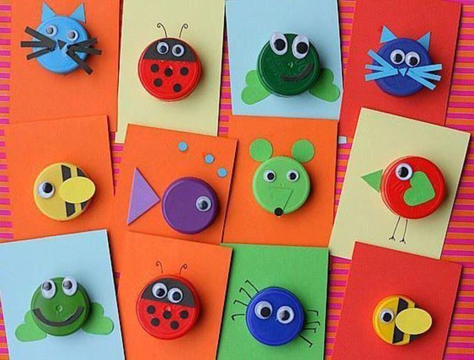 Plastic bottle cap craft ideas classroom stuff pinterest - Plastic bottle caps crafts ideas ...