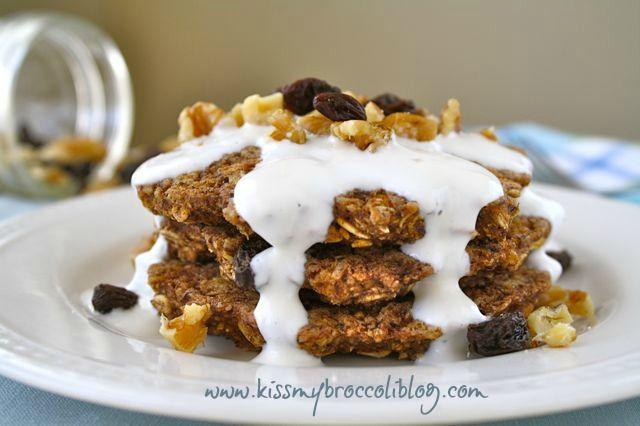 Oatmeal Raisin Flax Pancakes | Bfasts, gfree, sugar free, dairy free ...