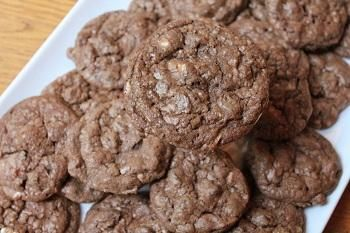 Gourmet Double Chocolate Chunk Cookies Recipe - Disney Recipes