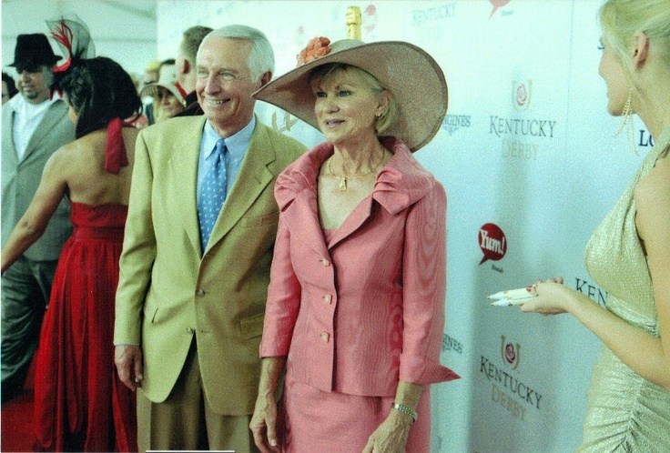 First Lady Jane Beshear in her 2012 Kentucky Hat by Polly Singer.
