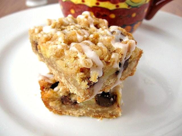apple toffee cinnamon streusel bars | Candy, Cookies & Bars | Pintere ...