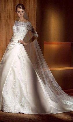 Rental Wedding Dresses With Sleeves - Flower Girl Dresses
