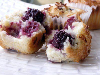 Blackberry Coconut Pound Cake Muffins | Muffin Man - Blueberry | Pint ...