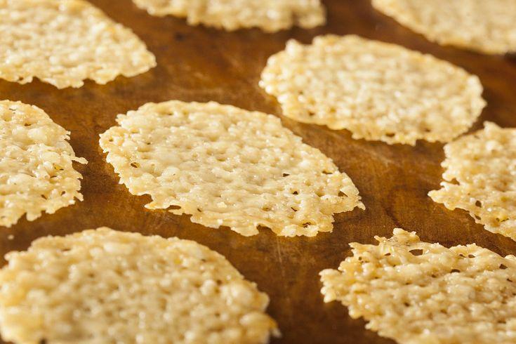 Parmesan Crisps | Good Stuff to Cook | Pinterest