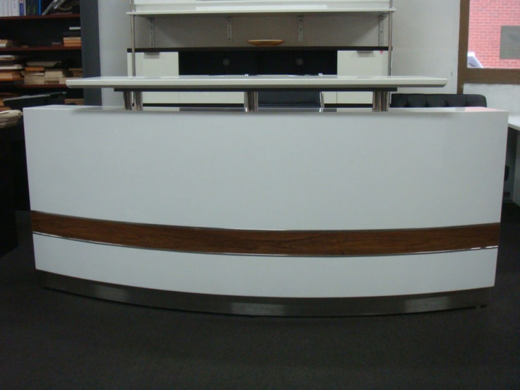 Office Counter : Reception Counter Reception Desk Counter Office Reception Desks Furni ...