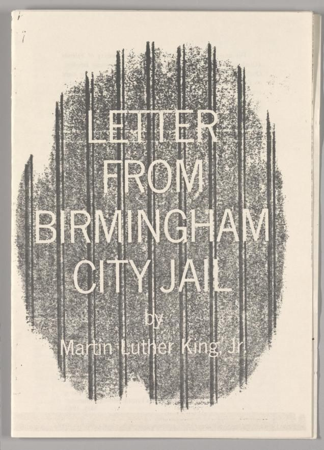 Martin Luther King Letter From Birmingham