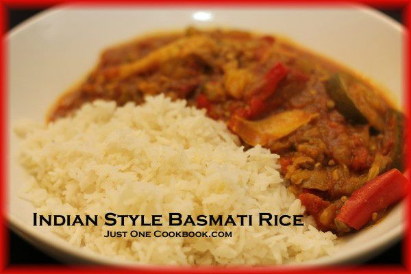 Indian Style Basmati Rice | Easy Japanese Recipes at JustOneCookbook ...