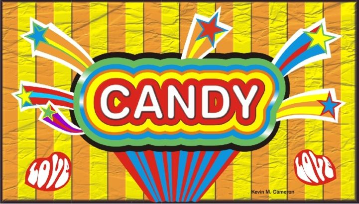 store candy display sign huh great ideas pinterest