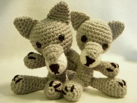 Amigurumi Pattern Wolf : Pin by Katie Cotton on Baby/toddler makes Pinterest