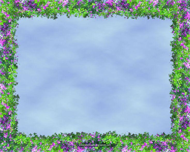 garden border clip art | No rhyme or reason, but...I like ...