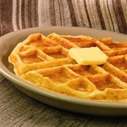 Tender and Easy Buttermilk Waffles i added half tsp almond extract