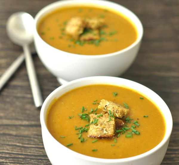 Roasted Vegetable Soup | Recipe