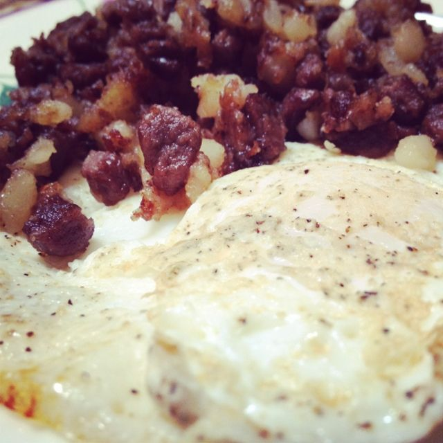 Roast Beef Hash ~ Ever miss that corn beef hash in a can from ...