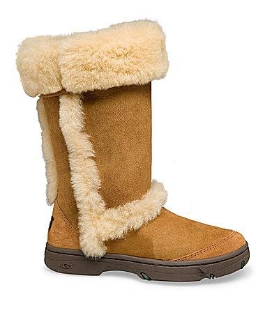 sunburst tall chestnut ugg boots