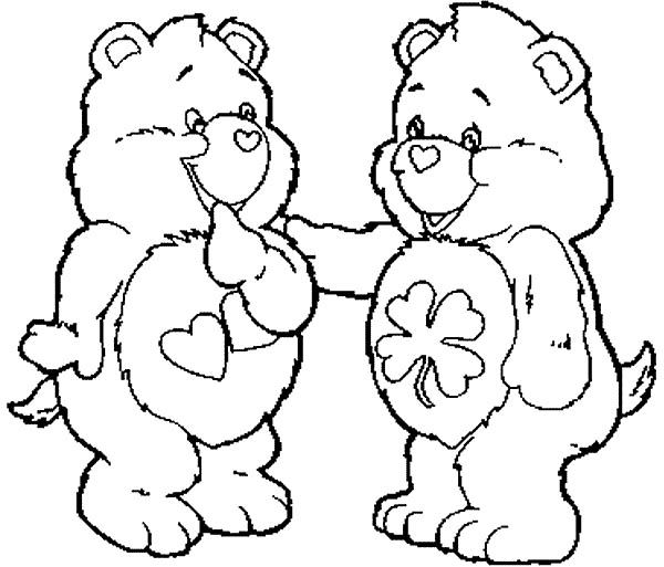 care bear coloring pages kids - photo#43