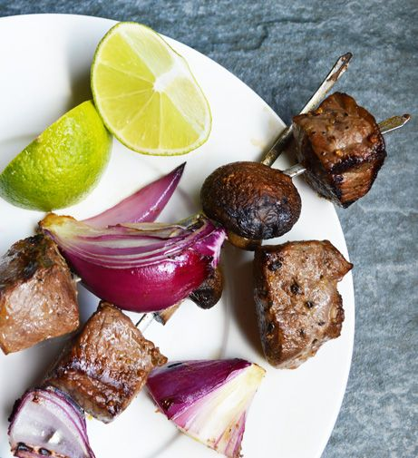Cumin Beef Kebabs -- Just a few simple ingredients make for some ...