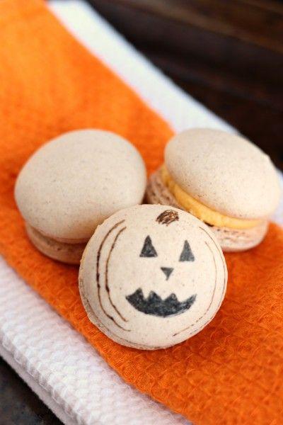 Pumpkin Macarons | RECIPES YOU WILL LOVE | Pinterest