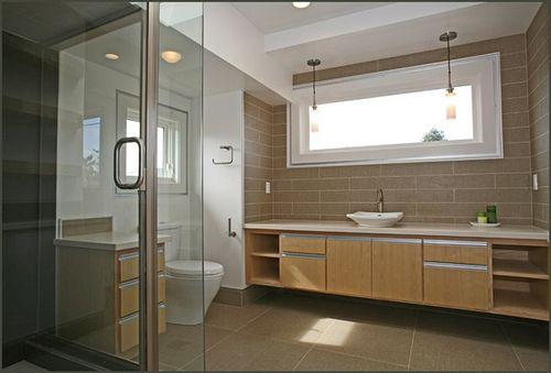 Mid Century Modern Bathroom For The Home Pinterest