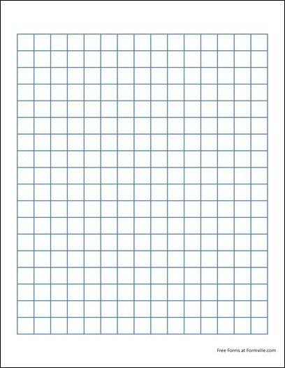 Graph Paper Printable 8.5X11 Free | Graph Paper (2 Squares per Inch ...