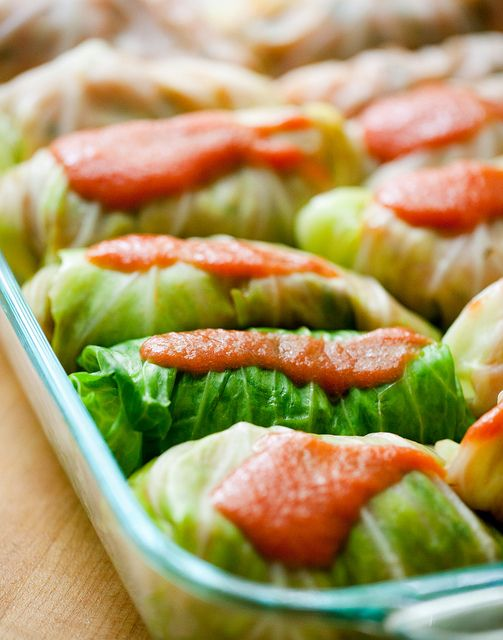 Vegetarian Cabbage Rolls #vegetarian | Daily Does of VEGetarian | Pin ...