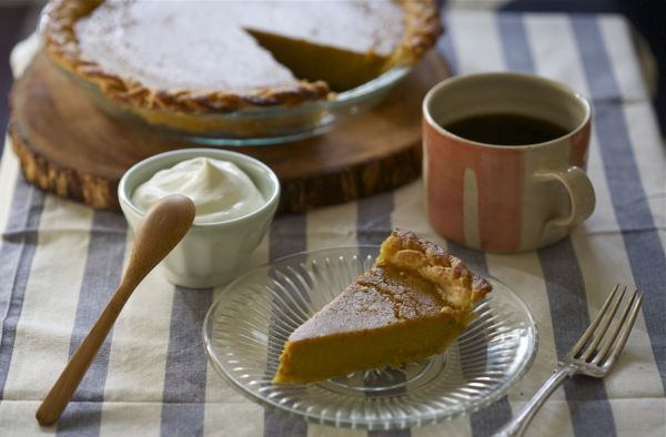 Braided Bourbon Pumpkin Pie - so excited to make this recipe this week ...