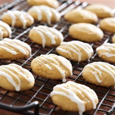 Brown Sugar Masa Shortbread with Anise Glaze | Recipe
