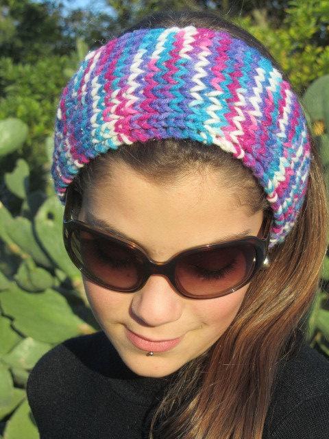 Loom Knitting Pattern Headband : Knit headband knitting, loom knitting, crochet, and patterns Pint?