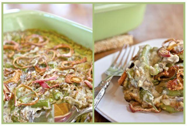 Vegan Green Bean Casserole | Nutritarian Lifestyle | Pinterest